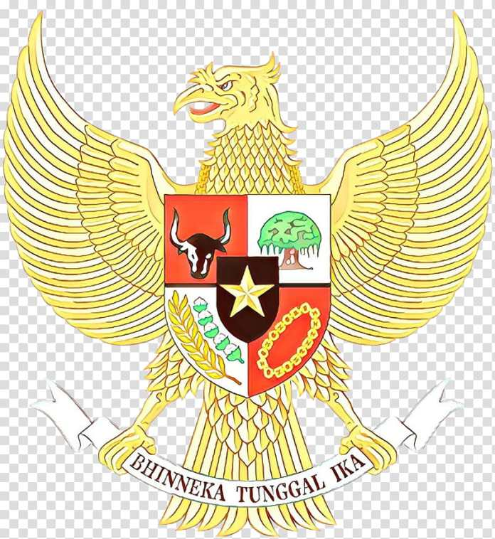 Logo Garuda Indonesia National Emblem Of Indonesia Pancasila Constitution Of Indonesia Government Of Indonesia Emblem Of Thailand Crest Symbol Transparent Background Png Clipart Hiclipart