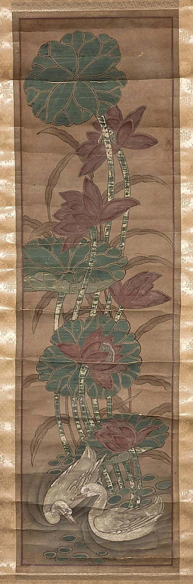 19th Century Korean Scroll Painting