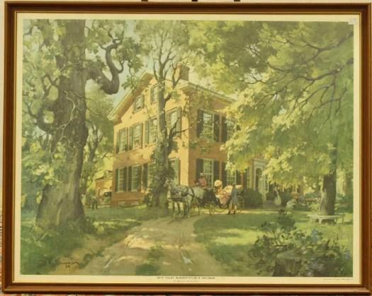 202 My Old Kentucky Home By Haddon Sundblom