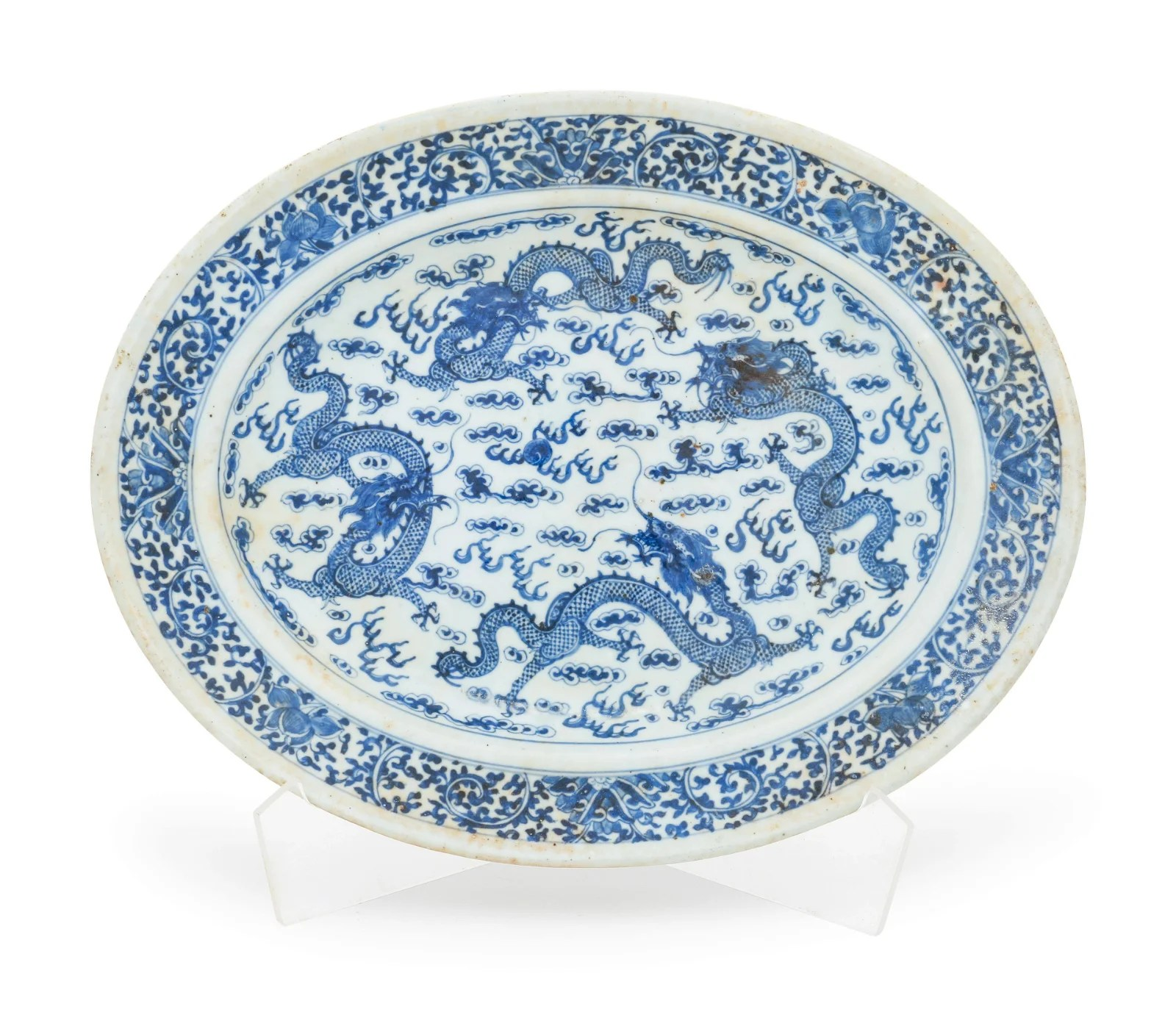 A Blue and White Porcelain