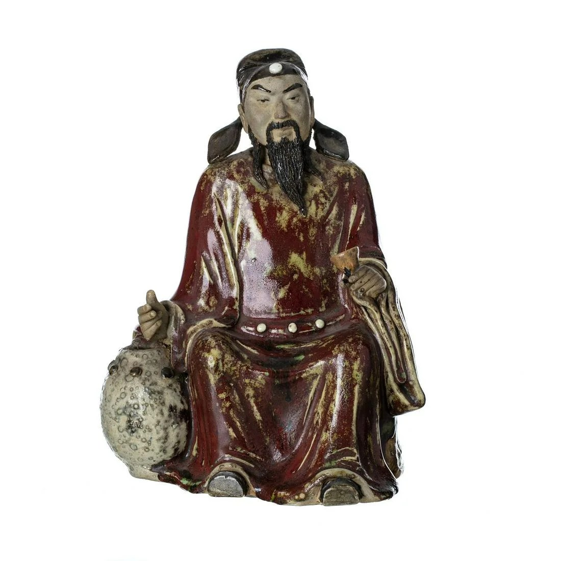 Chinese ceramic elder figure