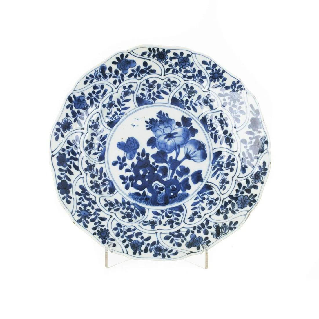 Chinese porcelain plate, Kangxi