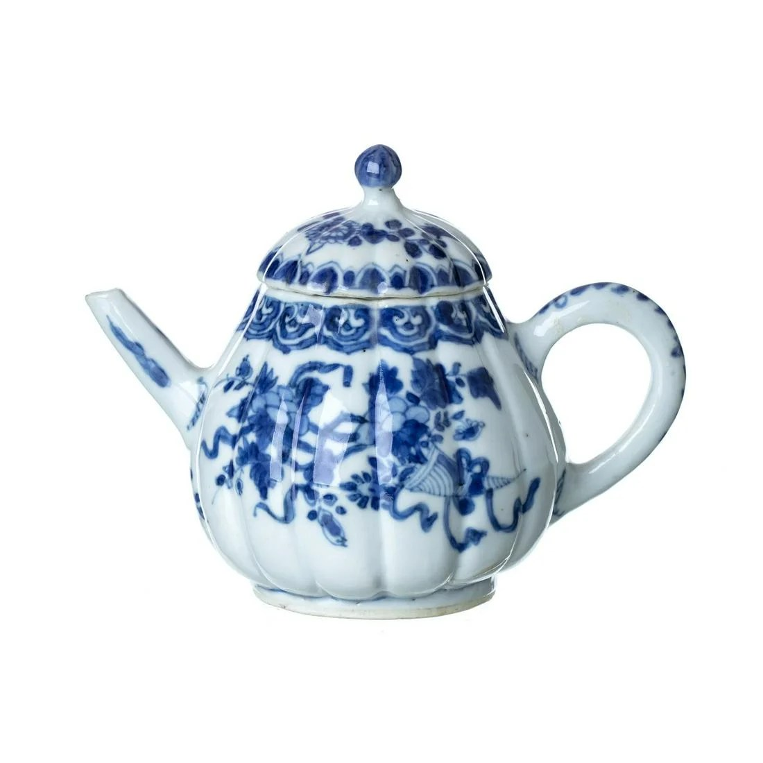 China porcelain teapot, Kangxi