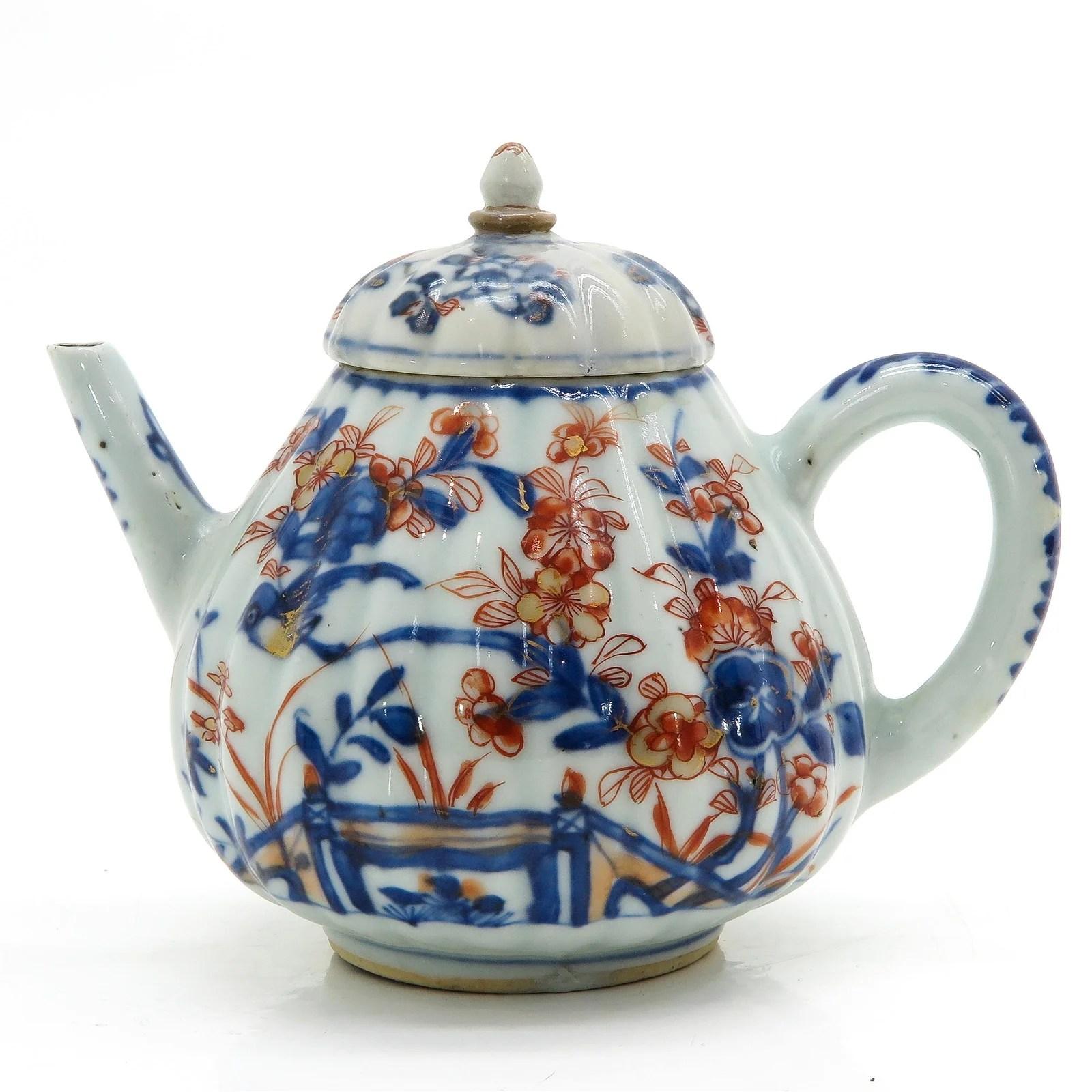 An Imari Teapot