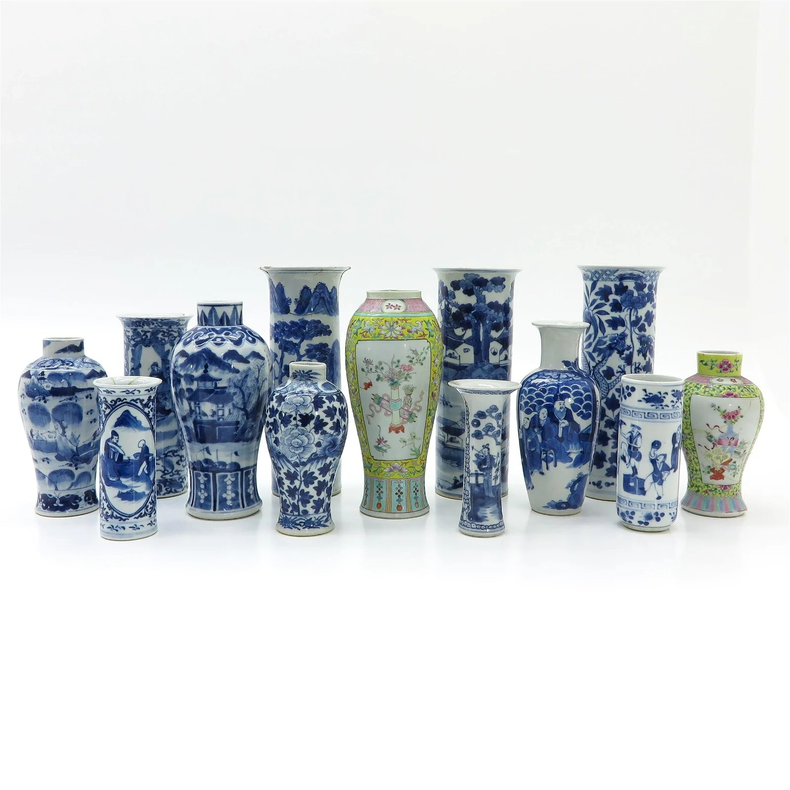 A Diverse Collection Chinese Vases