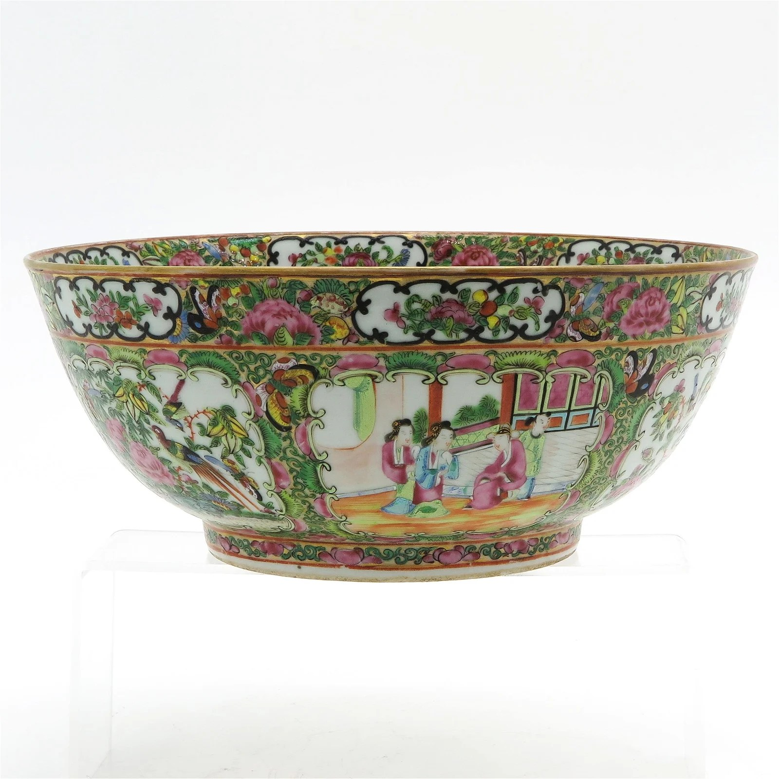 A Large Cantonese Serving Bowl