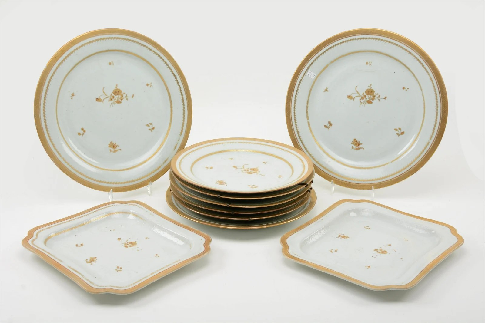 Chinese Export Porcelain Set, 18th/19th Century