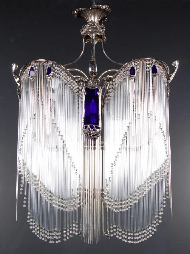 194 Art Nouveau Hector Guimard Chandelier