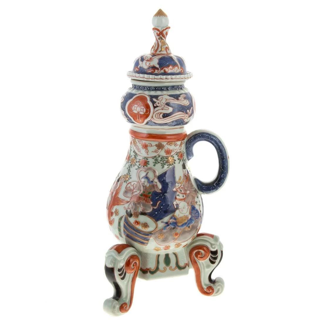 Chinese Export Imari Hot Water Urn