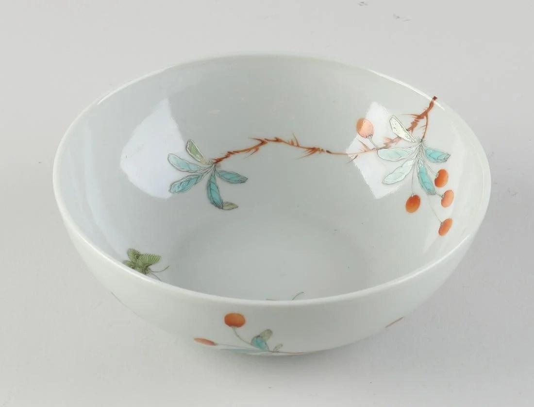Chinese Family Rose bowl Ø 14 cm.