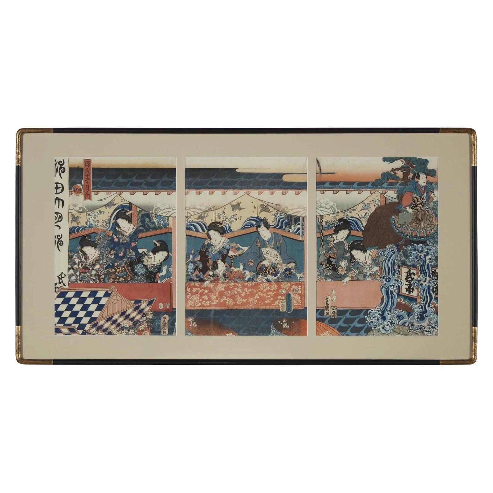 UTAGAWA KUNISADA (1786-1865), 1857