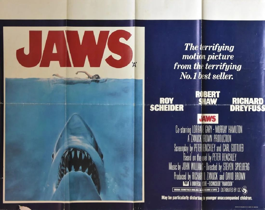 movie posters a promotional poster jaws 1975 roy