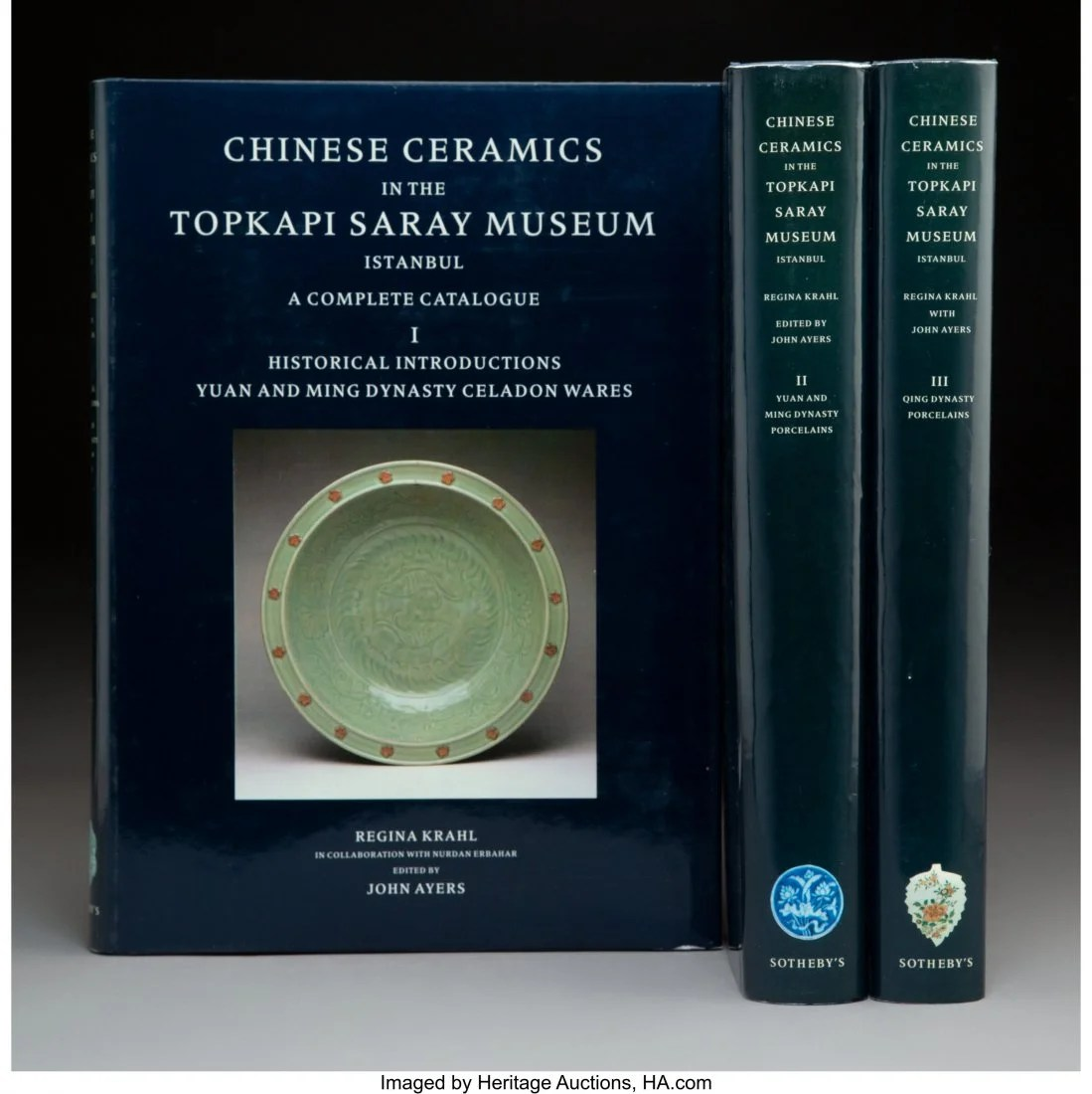 78168: A Three Volume Set of Chinese Ceramics in the To