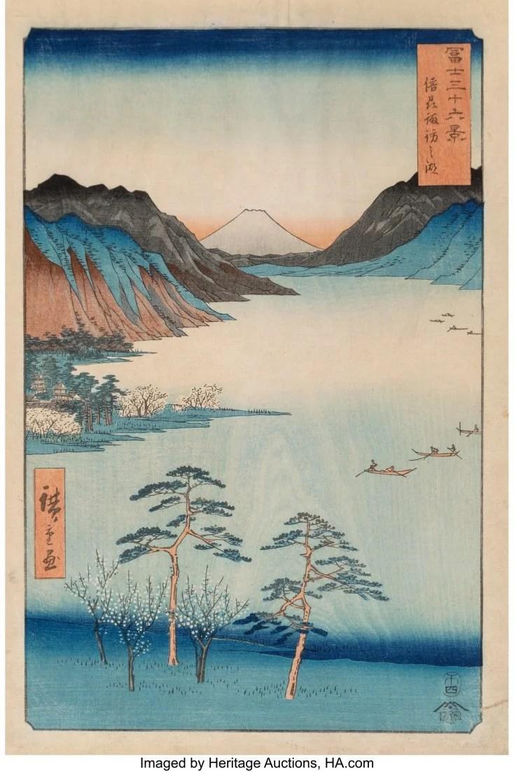 78415: Utagawa Hiroshige I (Japanese, 1797-1858) Thirty