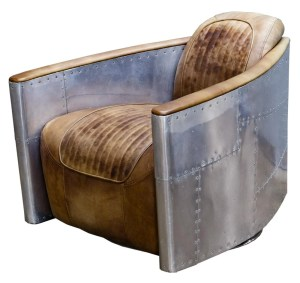 Restoration Hardware Aviator Leather Chair Nov 11 2018 Leonard Auction Inc In Il