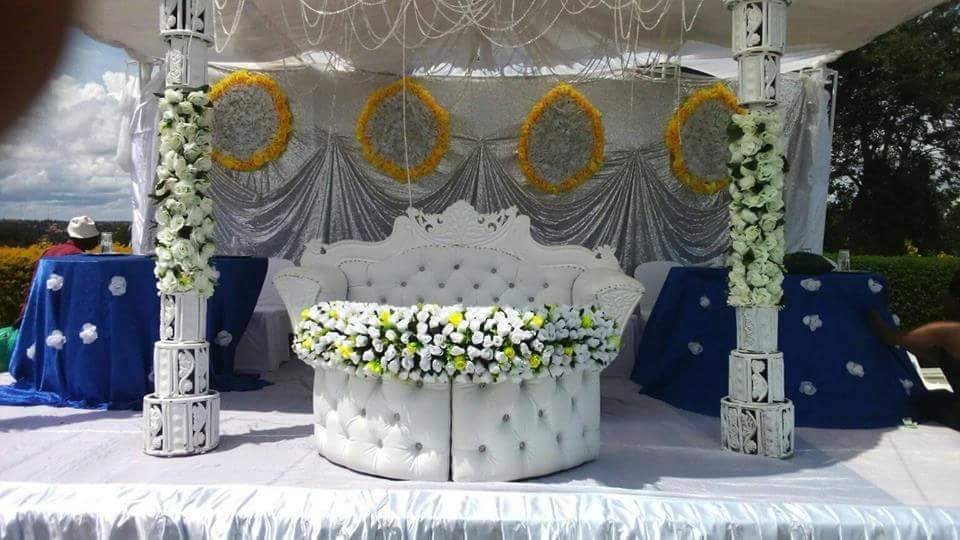 Wedding High Table Decorations By Shibz Events Ltd Photos