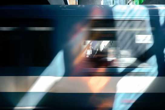 無題, 人々, 都市, ライフスタイル, 男, 列車, モーション, ぼやけたモーション, 速度, 交通
