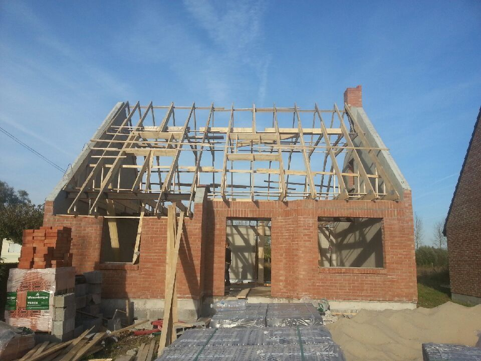 construction d une extension et d un garage par bernard lannoy construction habitation en clos couvert par maisons castor canalblog