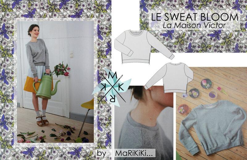 Le sweat Bloom LMV 01