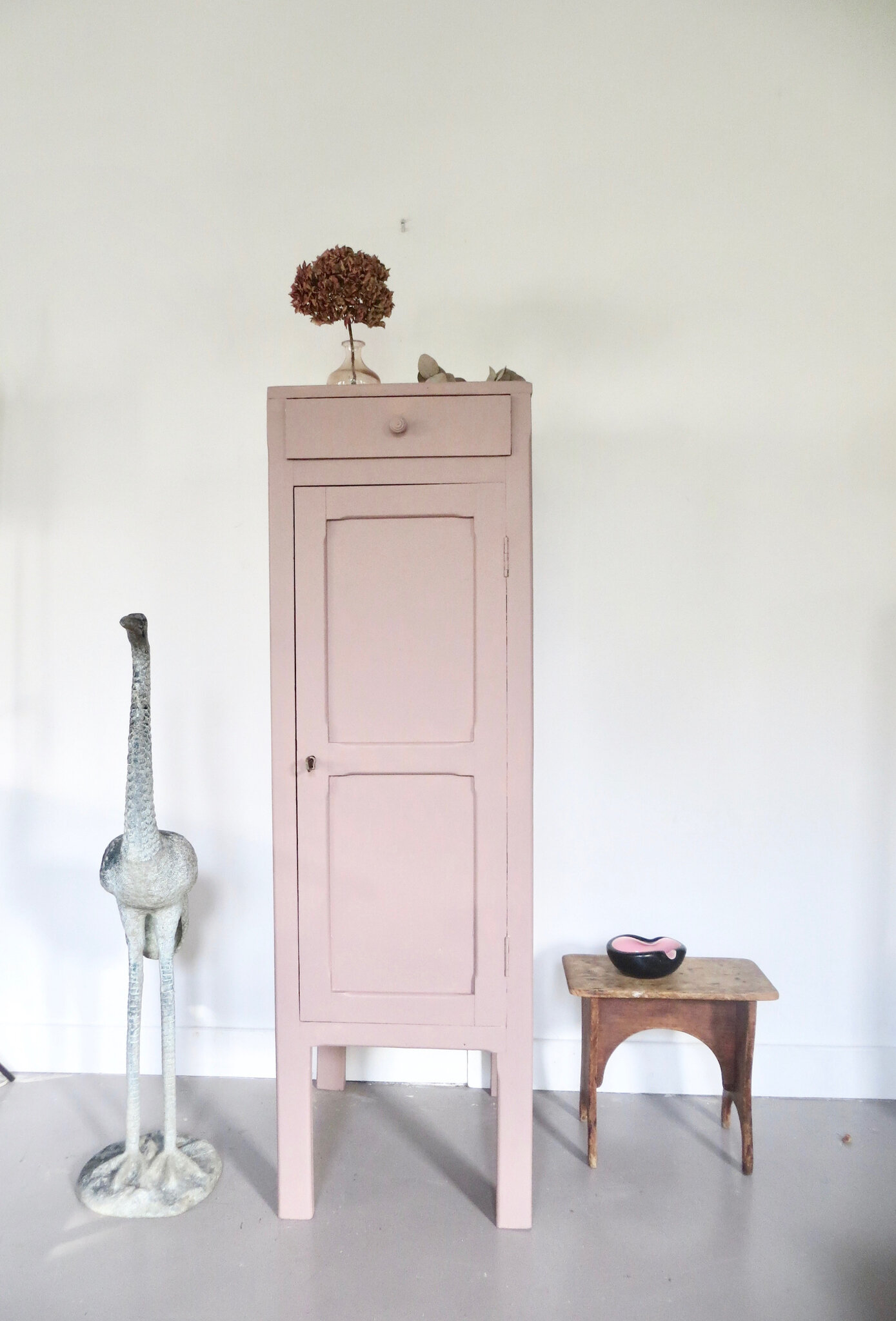 meuble buffet vintage rose meubles