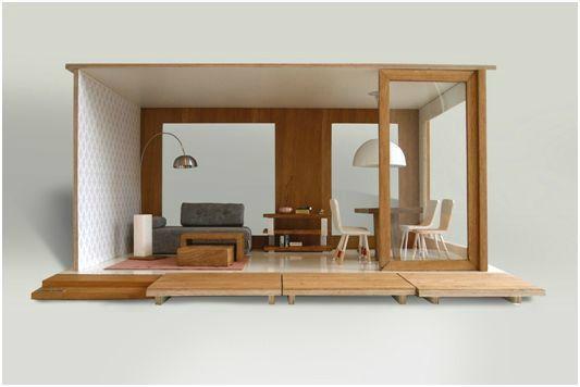 mobilier et maison design pour poupee by miniio