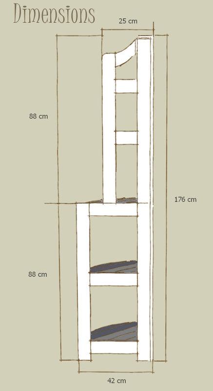 tuto d une etagere d angle partie1