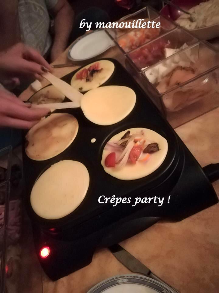 crepes party par pure gourmandise