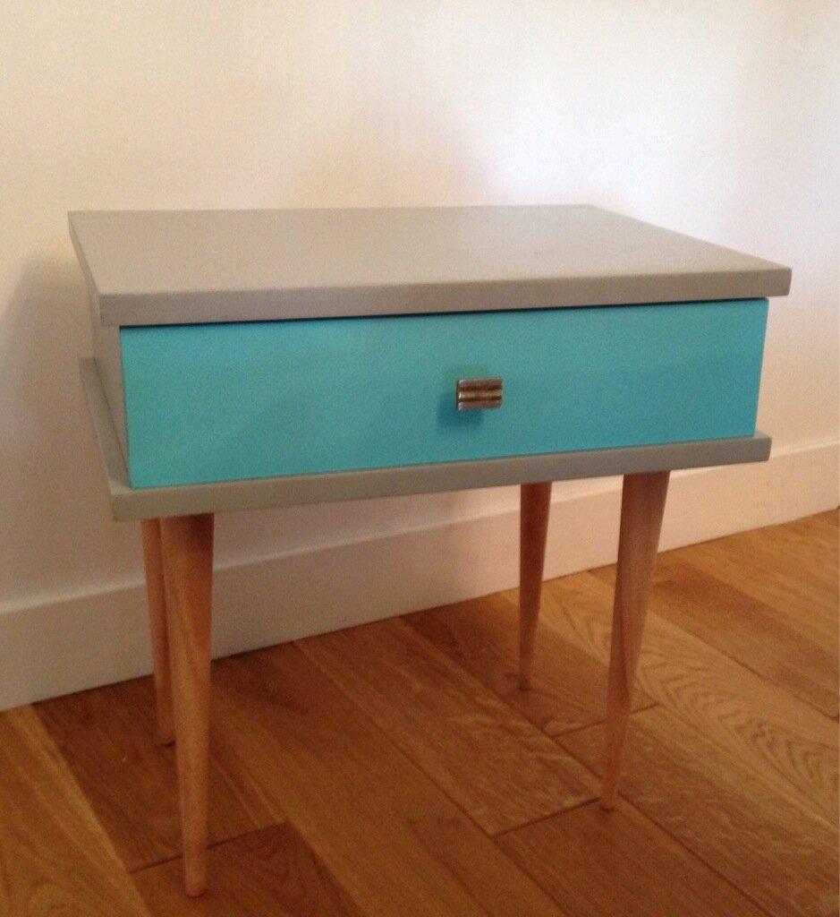 Relooking Table De Chevet Vintage Eulalie Ma Dit