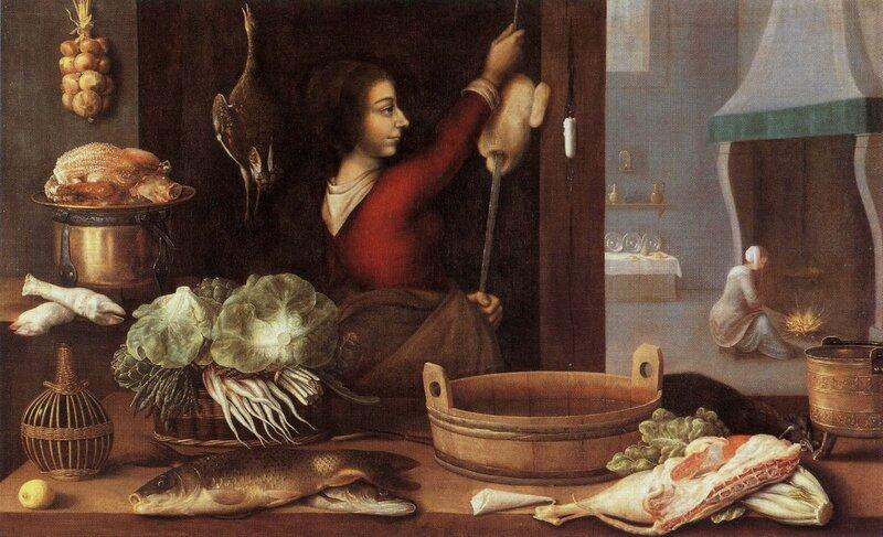 les quatre éléments , l'hiver , hst , 116 x 188cm - musée de l'oeuvre Notre-Dame , Strasbourg