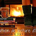 Read-a-thon de noël, c