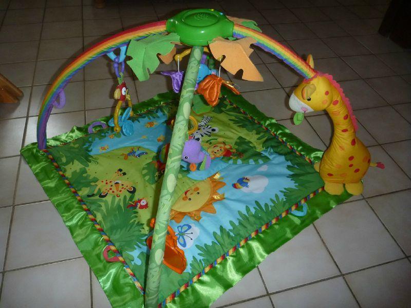 tapis d eveil jungle vente