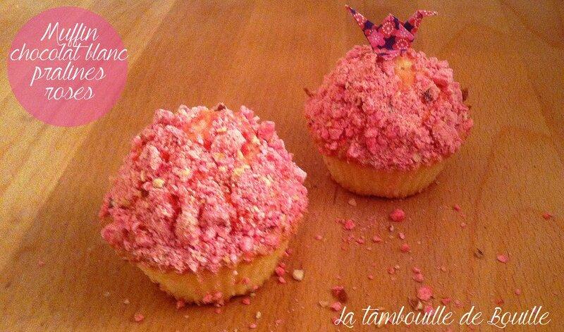 muffinchocolatblancpralinesroses