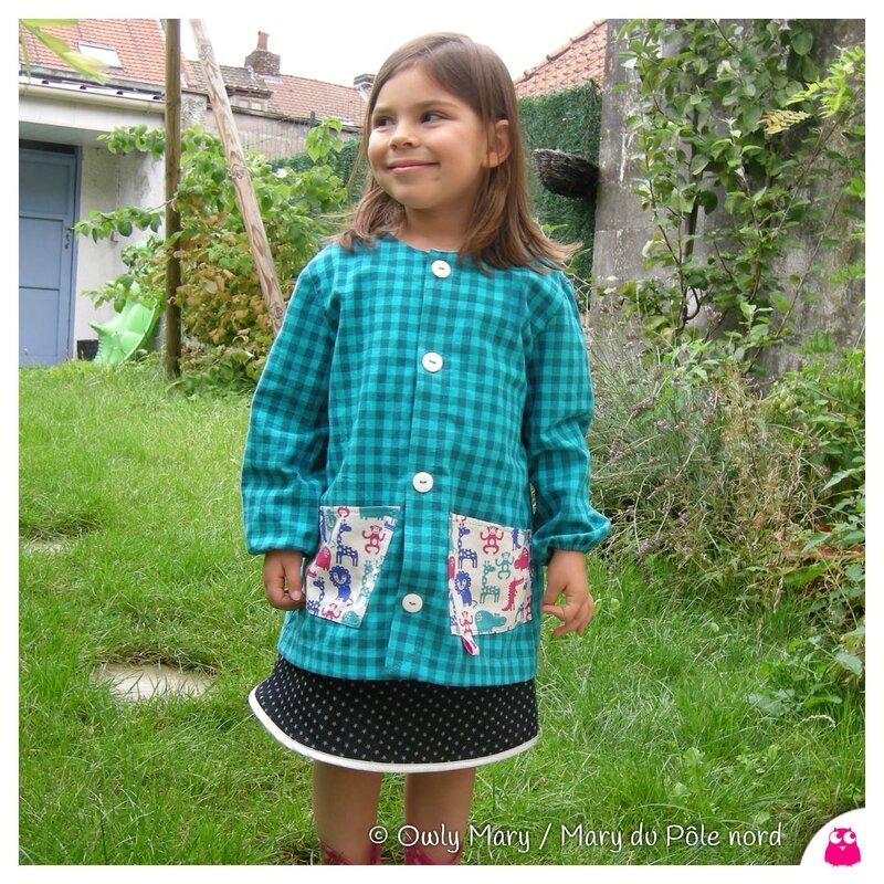 les tabliers blouses pour la maternelle