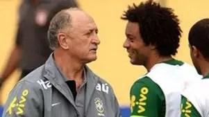 Marcelo diz o que mudou na Seleção com chegada de Felipão
