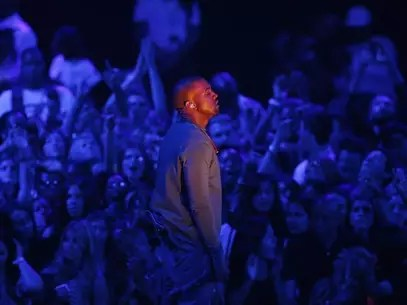 "Kanye West performs ""Blood on the Leaves"" during the 2013 MTV Video Music Awards in New York August 25, 2013. Foto: Eric Thayer / Reuters"
