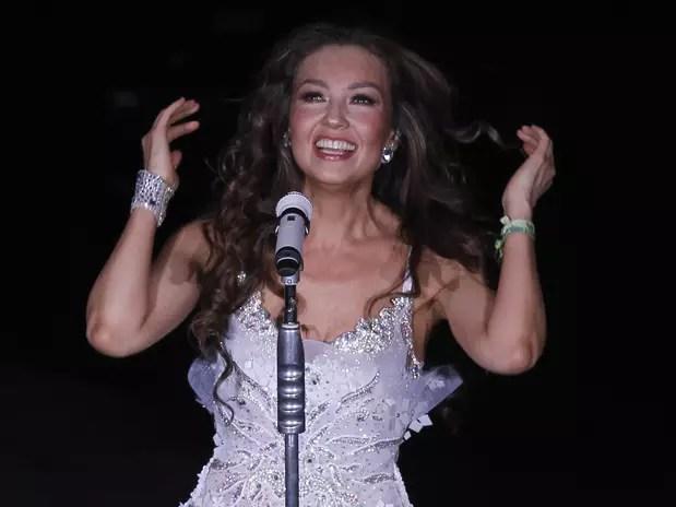 Omar Suárez, productor del musical, dijo que Thalía podrá hacer lo que quiera en su aparición, aún se desconoce la fecha de la función. Foto: AP