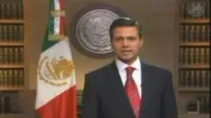 Mensaje de Peña Nieto tras la captura de Elba Esther Gordillo