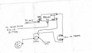 R7 Wiring diagram  0123 Mopar (Warner, B Warner and
