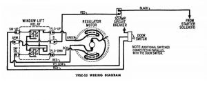 Window Regulator Wiring Diagram Chrysler 195053 22  Electrical  P15D24 and Pilothouse