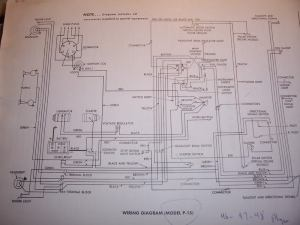 1948 Plymouth wiring diagram  Electrical  P15D24