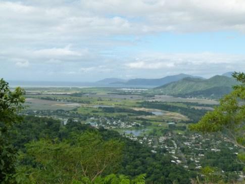 Kuranda Scenic Railway - looking towards Cairns
