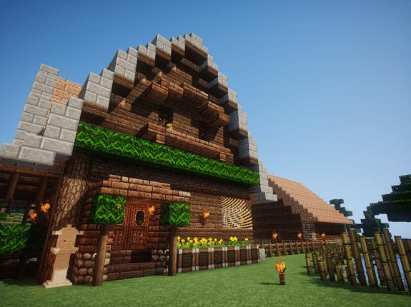 【Minecraft】生存小屋 - alcor0603的創作 - 巴哈姆特