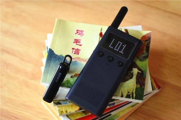 小米新配件,除了是蓝牙耳机,还能搭配对讲机一键通话_按键