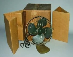 3154: An A.C. Gilbert Electric Fan,