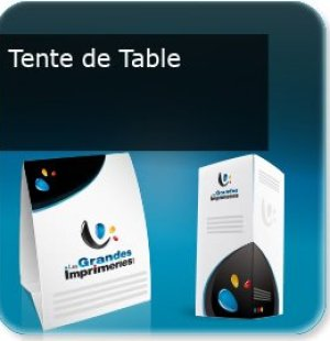 impression  Tente de table