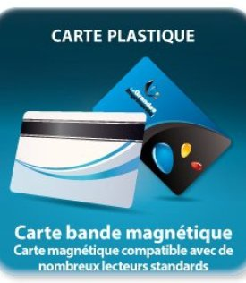 impression  carte bande magnétique