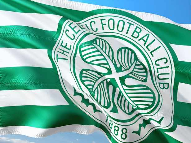 1888, celtic football club flag, football, soccer, europe, uefa ...