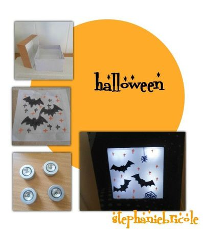 compo lampe halloween creative