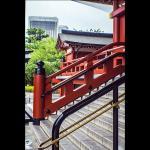 marches menant au temple-photo de G