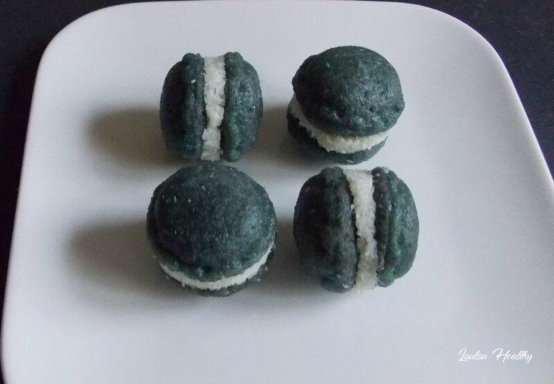 biscuits forme macaron à la noix de coco3
